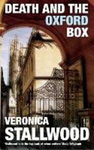 Death and the Oxford Box - Veronica Stallwood - cover