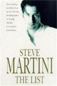 The List - Steve Martini - cover