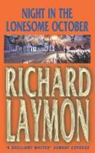 Night in the Lonesome October: Heartbreak leads to a sinister after-dark journey - Richard Laymon - cover