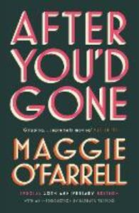 After You'd Gone - Maggie O'Farrell - cover