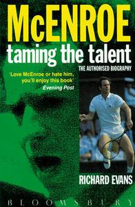 John McEnroe: The Authorized Biography - Richard Evans - cover