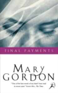 Final Payments - Mary Gordon - cover