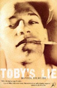 Toby's Lie - Daniel Vilmure - cover