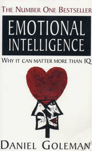 Emotional Intelligence: Why it Can Matter More Than IQ - Daniel Goleman - cover