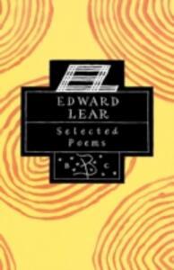 Edward Lear: Selected Poems - Edward Lear,George Herbert - cover