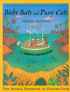 Bisky Bats and Pussy Cats - Edward Lear - cover