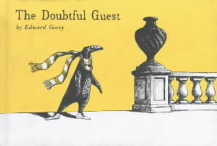 The Doubtful Guest - Edward Gorey - cover