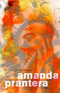 Letter to Lorenzo - Amanda Prantera - cover