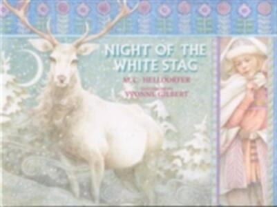 The Night of the White Stag - M.C. Helldorfer - cover