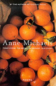 Poems - Anne Michaels - cover