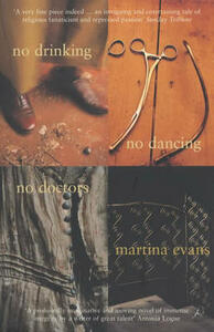 No Drinking, No Dancing, No Doctors - Martina Evans - cover