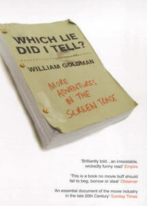 Which Lie Did I Tell? - William Goldman - cover