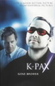 K-Pax - Gene Brewer - cover