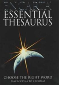Encarta Essential Thesaurus: Choose the Right Word - cover