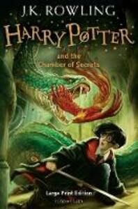 Harry Potter and the Chamber of Secrets - J. K. Rowling - cover