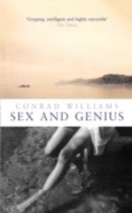 Sex and Genius - Conrad Williams - cover