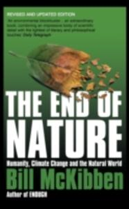 The End of Nature - Bill McKibben - cover