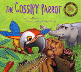 The Gossipy Parrot - Shen Roddie - cover