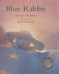 The Blue Rabbit - Angela McAllister - cover