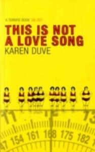 This is Not a Love Song - Karen Duve - cover