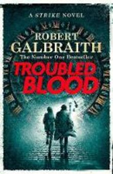 Troubled Blood - Robert Galbraith - cover