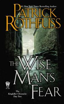 The Wise Man's Fear - Patrick Rothfuss - cover