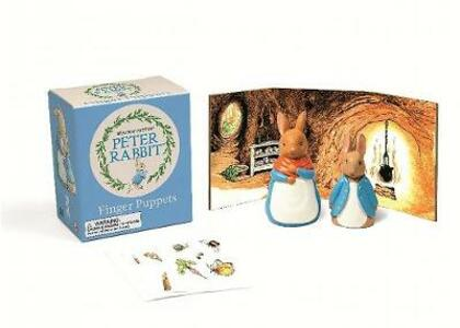 Peter Rabbit Finger Puppets - cover
