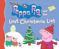 Libro in inglese Peppa Pig and the Lost Christmas List Candlewick Press