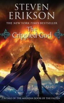 The Crippled God - Steven Erikson - cover
