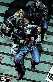 Captain America: the Death of Captain America - cover