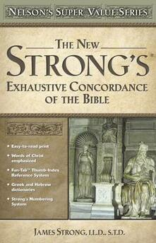New Strong's Exhautive Concordance - James Strong - cover