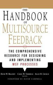 The Handbook of Multisource Feedback - cover