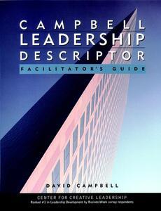 Campbell Leadership Descriptor Facilitator's Guide Package - David P. Campbell - cover