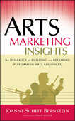Libro in inglese Arts Marketing Insights: The Dynamics of Building and Retaining Performing Arts Audiences Joanne Scheff Bernstein