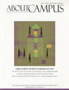 About Campus: Enriching the Student Learning Experience, Volume 11, Number 1, 2006 - ABC,Marcia B. Baxter Magolda - cover
