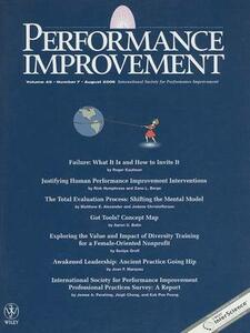 Performance Improvement - PFI - cover