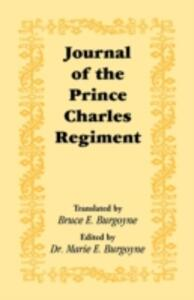 Journal of the Prince Charles Regiment - cover