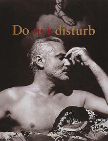 Do Not Disturb - Gianni Versace - cover