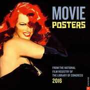 Libro in inglese Movie Posters Wall Calendar: From the National Film Registry of the Library of Congress National Film Registry of the Library of Congress
