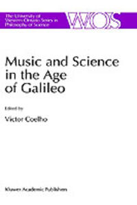 Music and Science in the Age of Galileo - cover