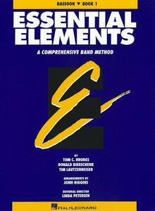 Essential Elements Book 1 - Bassoon - Rhodes Biers - cover