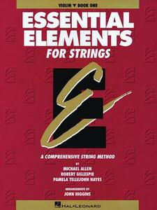 Essential Elements for Strings: Violin - Michael Allen - cover