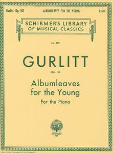 Albumleaves for the Young, Op. 101 - cover