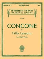 50 Lessons, Op. 9: Schirmer Library of Classics Volume 1468