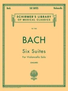 J.S. Bach: Six Suites For Cello Solo - cover