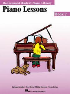 Hal Leonard Student Piano Library: Piano Lessons Book 2 - cover