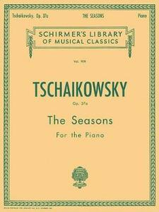 The Seasons: Twelve Characteristic Pieces for the Piano - cover