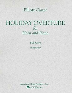 Holiday Overture 1944-1961 - cover