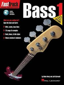 Fast Track: Bass - Book One - Blake Neely,Jeff Schroedl - cover
