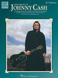 The Best of Johnny Cash: Easy Guitar with Notes & Tab - cover